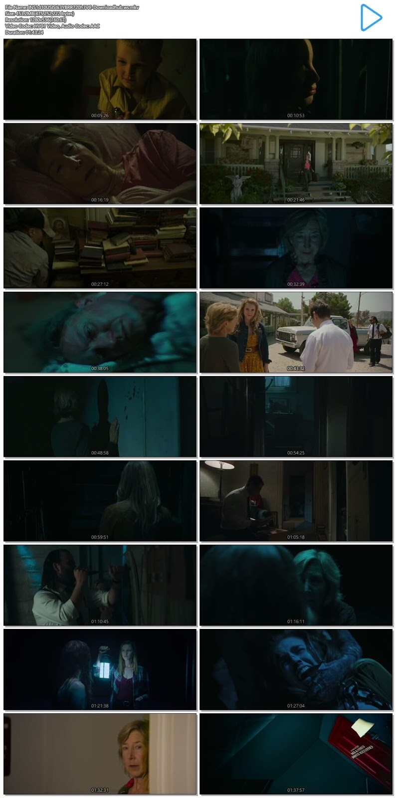 Insidious The Last Key 2018 English 720p HEVC BRRip ESubs