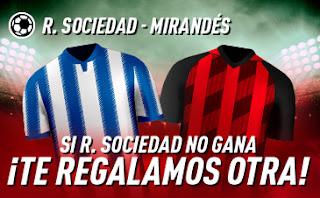 sportium Promocion Real Sociedad vs Mirandes 13 febrero 2020
