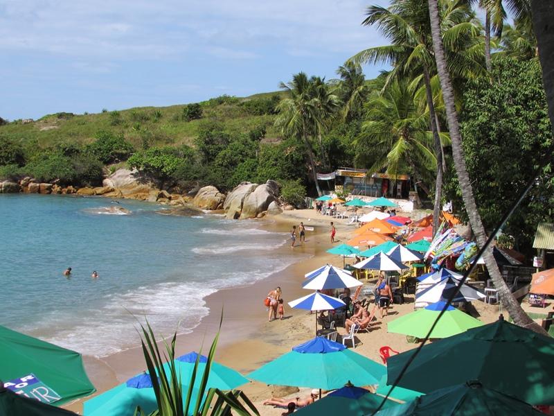 Praia de Calhetas, uma das mais bonita de Pernambuco