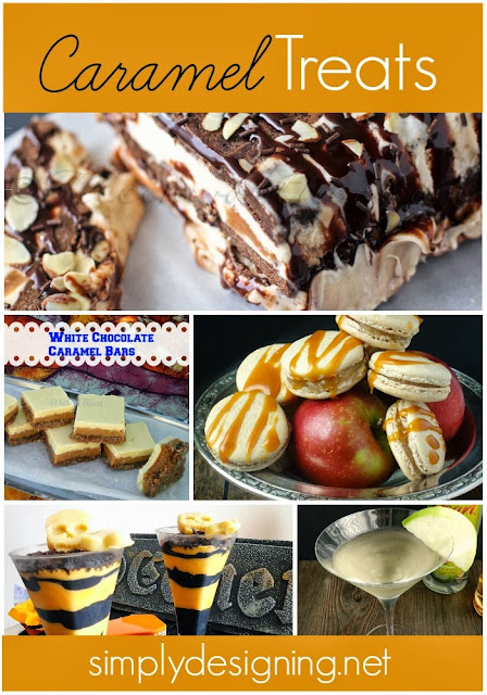 Scrumptious Caramel Treats | #caramel #fallrecipes #recipes #whimsywednesday