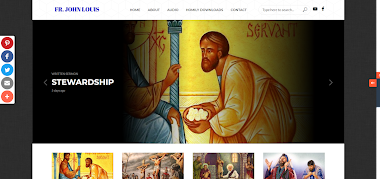 Catholic Homily and Sermons website of Fr. John Louis