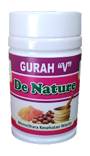 Obat Herbal Gurah V De Nature Indonesia