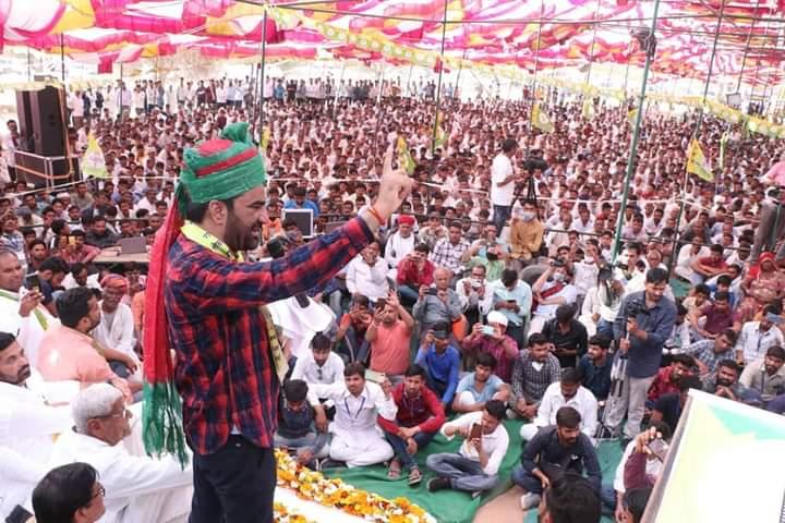 BJP, Cong exploiting people of Rajasthan: RLP leader Hanuman Beniwal