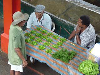 Marché Victoria - Mahé - Seychelles