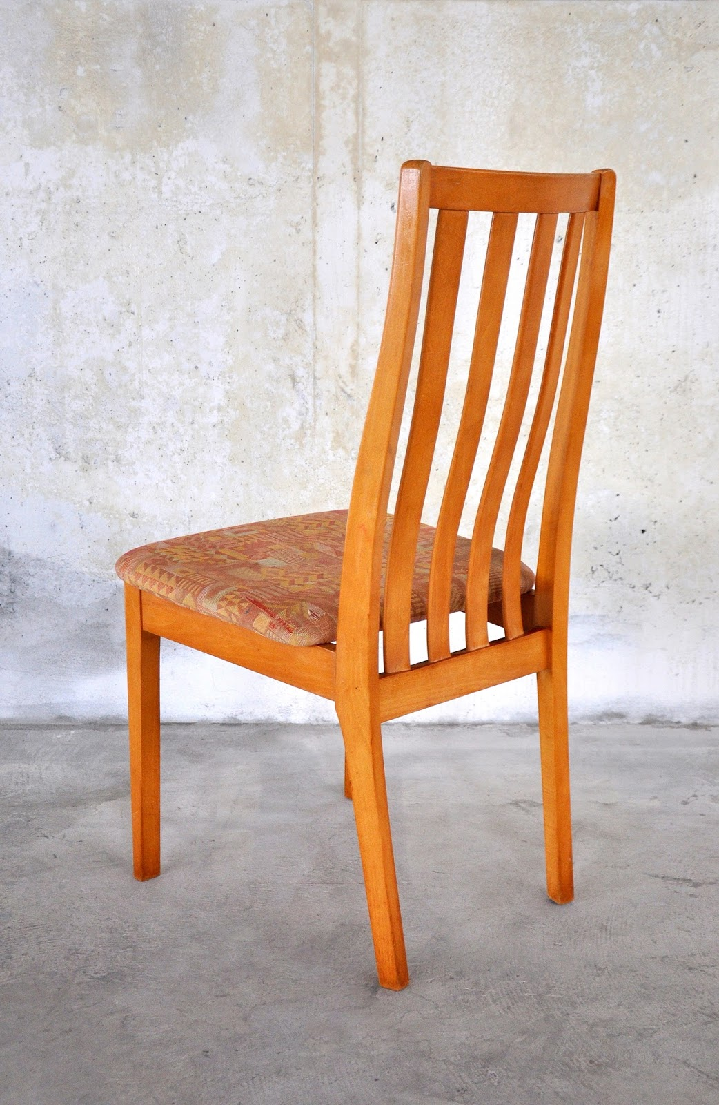 danish modern dining chair wooden chairs images select set of 6