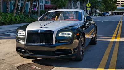 Rolls-royce, luxury car, black car