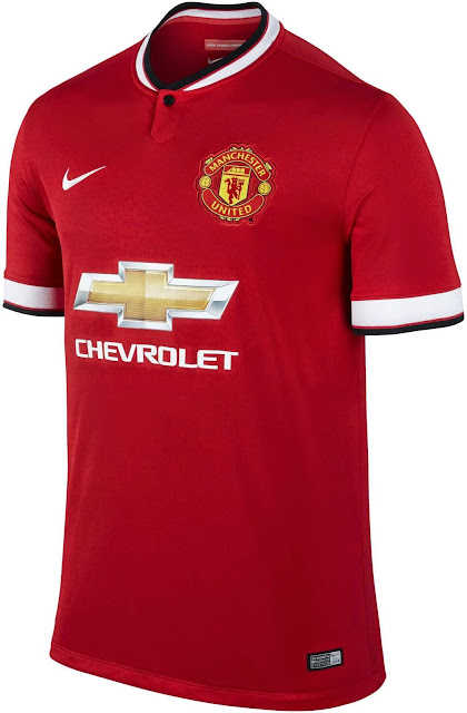Manchester United Kits For 2014/2015 The Last From NIKE
