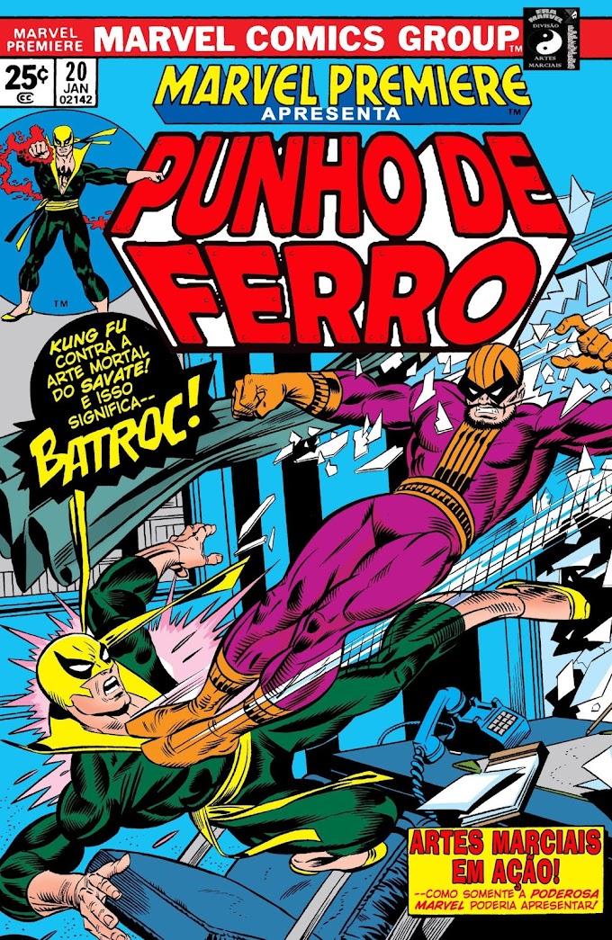 Lançamento - MPV1 Punho de Ferro: Batroc e Outros Assassinos (1975)