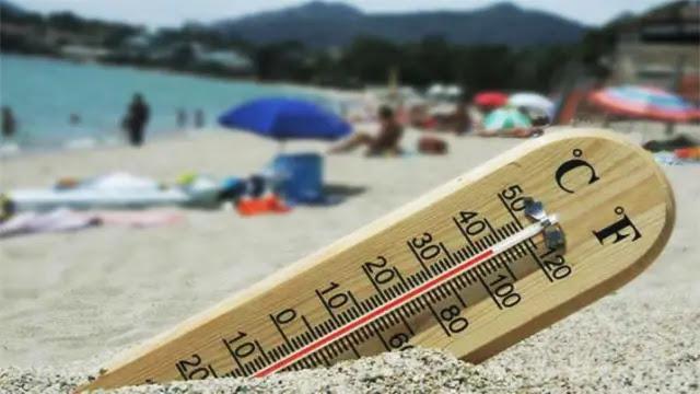 مدينة أكادير على صفيح ساخن اقتربت درجة الحرارة من 50 درجة