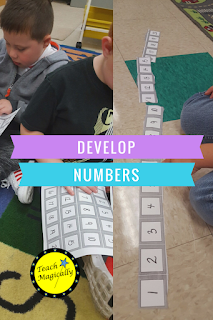 how to develop number sense