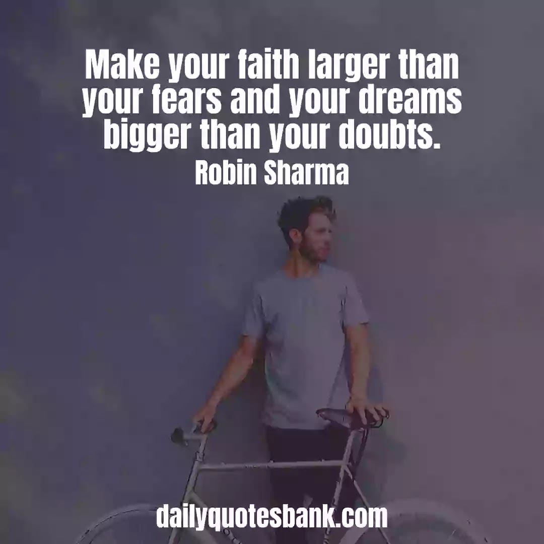 Robin Sharma Quotes On Dream That Will Increase Inner Power