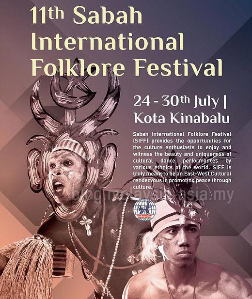 Folklore Festival Malaysia Sabah