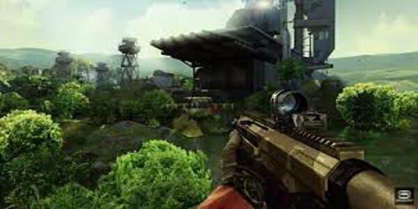 لعبة القنص sniper fury مهكرة