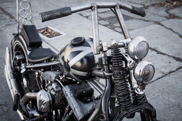 Harley Davidson Shovelhead By Dennis Ho Hell Kustom