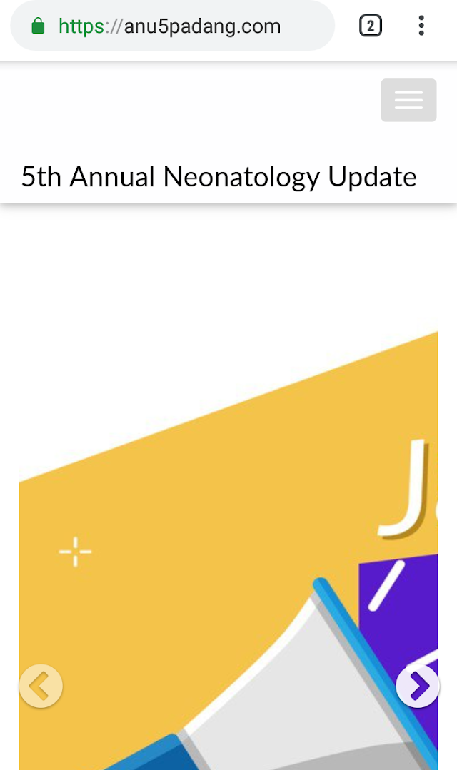 5th Annual Neonatology Update -Padang Sabtu-minggu/9-10 November 2019