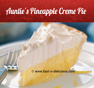 Pineapple Creme Pie