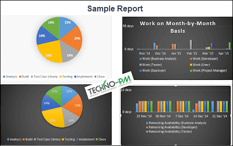 microsoft project tutorial, MS Project Sample Report