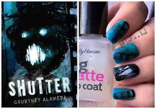 Literary Nails: Shutter by Courtney Alameda