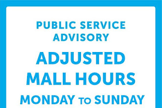 SM City Rosales Adjusted Mall Hours