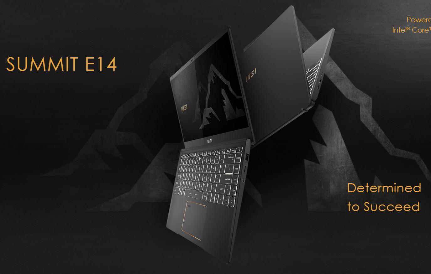 MSI Summit E14 A11SCST 229ID, Laptop Bisnis Tipis yang Powerful Bertenaga Core i7-1185G7
