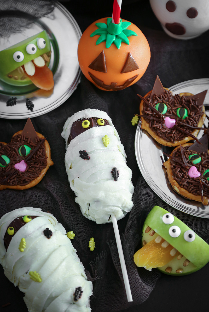 Four Easy Halloween Treats for HGTV! | Sprinkle Bakes