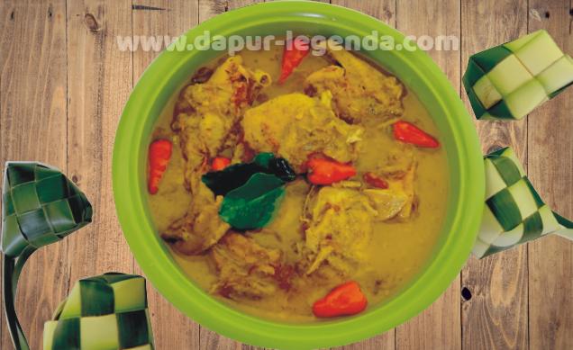 Resep dan Cara membuat Opor Ayam Spesial Lebaran