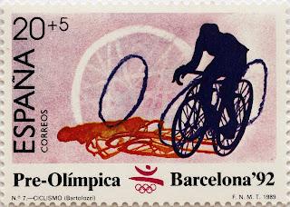 PRE-OLÍMPICA BARCELONA 92. CICLISMO