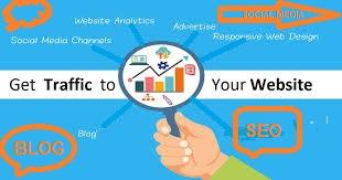 get traffic on website,blog