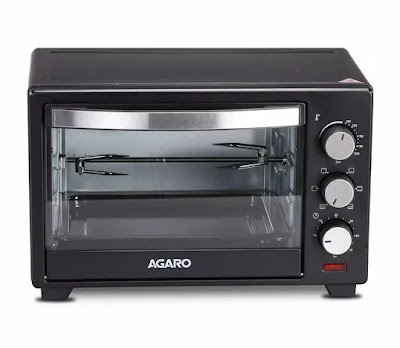 AGARO Marvel 25-Litre Oven Toaster Grill with Motorized Rotisserie and 5 Heating Modes | Best OTG for Baking In India | Best OTG in India Reviews
