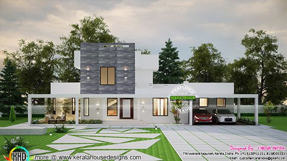 3 bedroom modern contemporary house