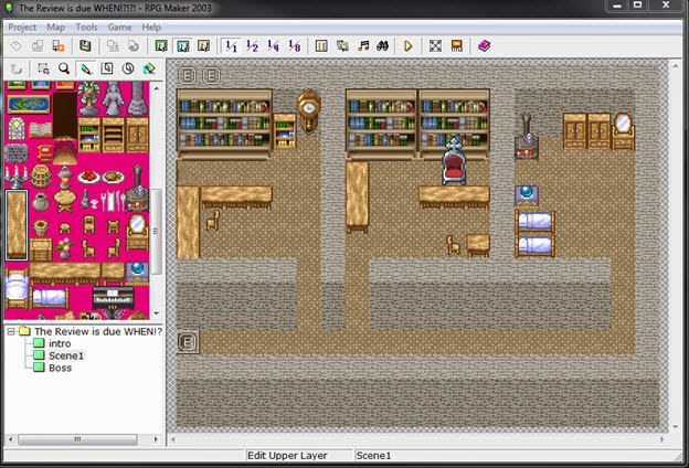 Chalgyr's Game Room: RPG Maker 2003 - PC Review