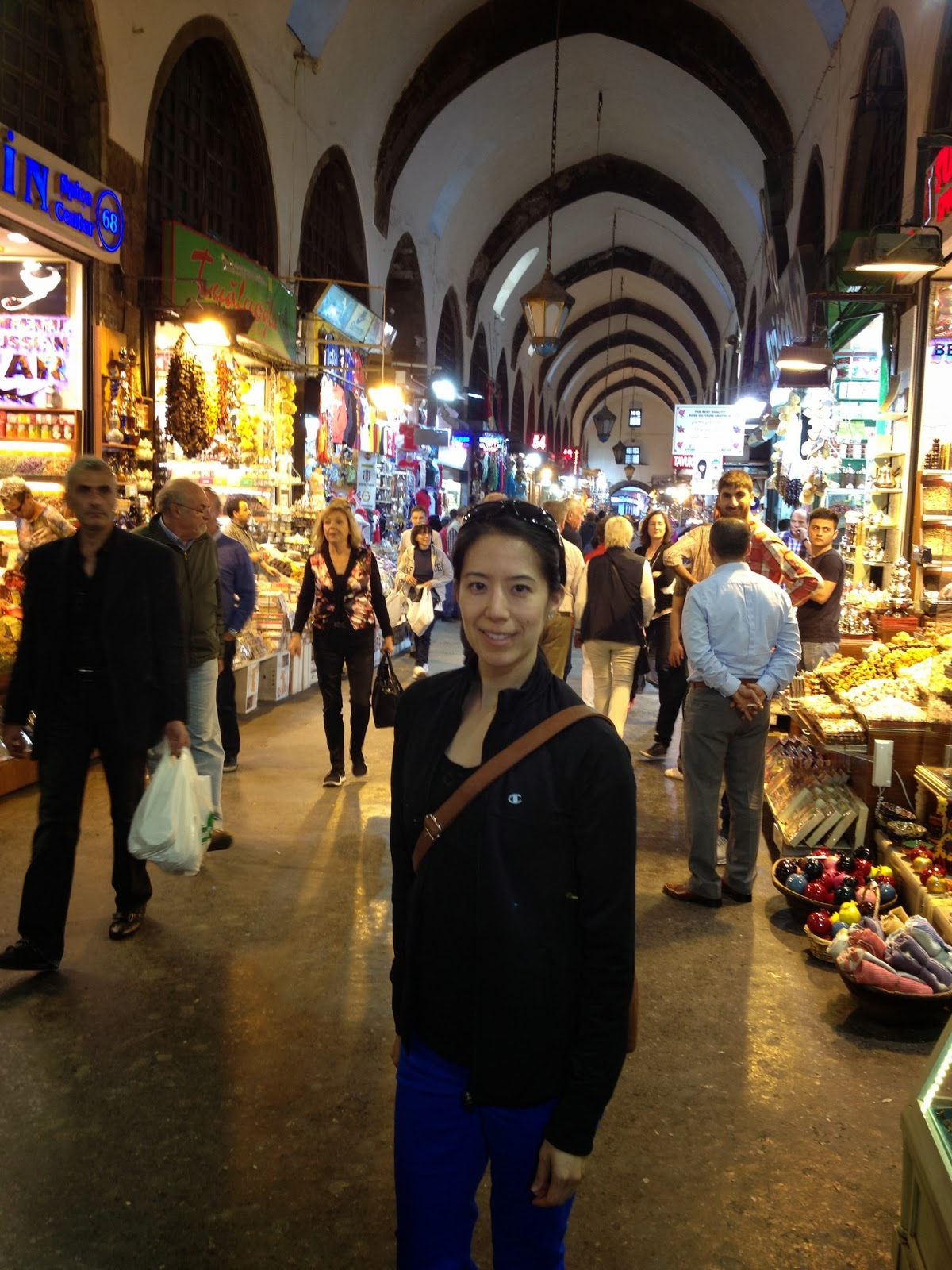 Istanbul - At the Spice Bazaar