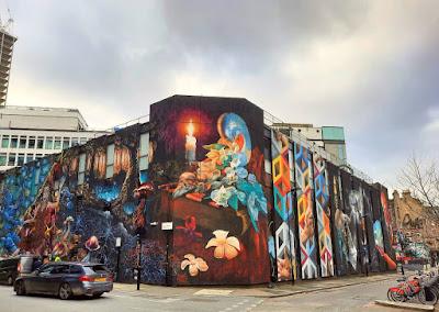 Shoreditch London urban street art graffiti