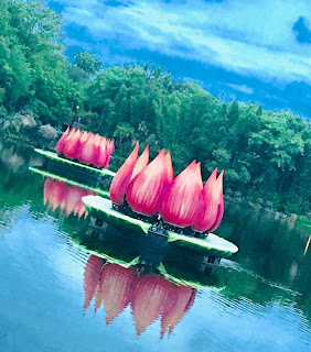Rivers of Light Lotus Fountain Disney's Animal Kingdom