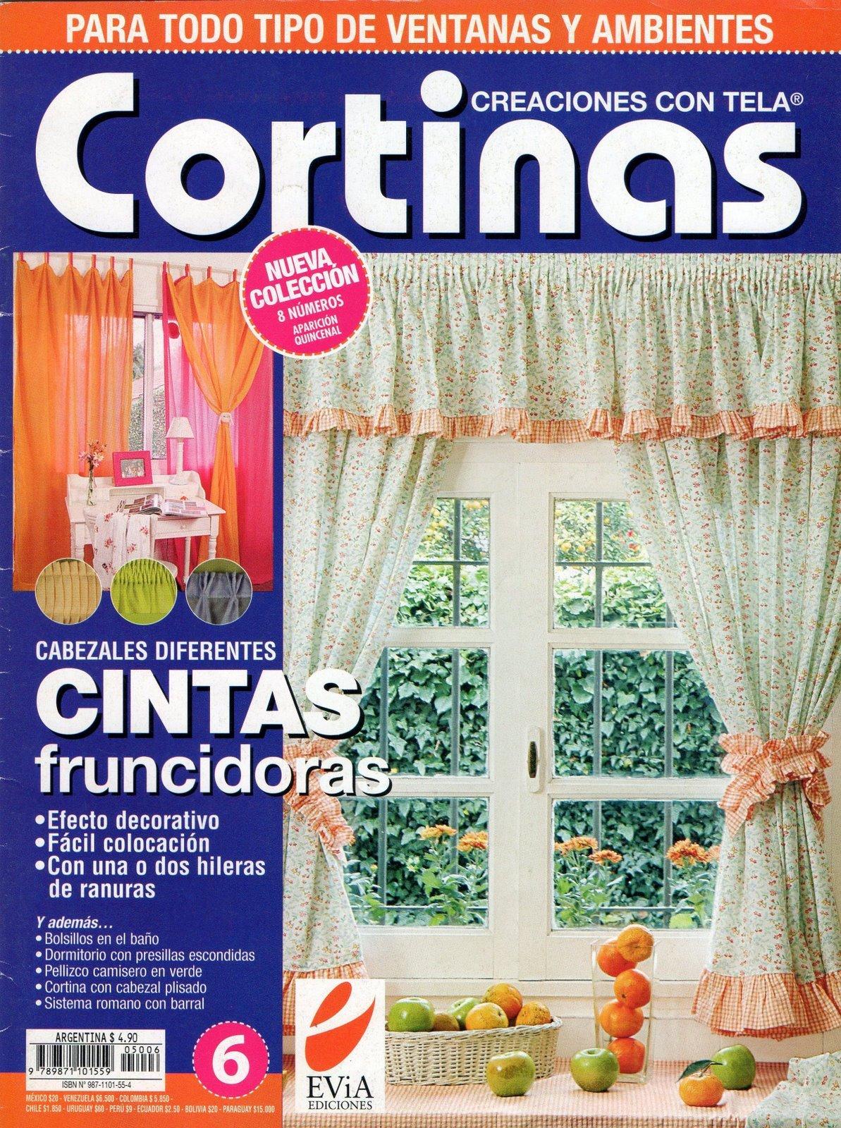 Manualidades CORTINAS CREACIONES CON TELA