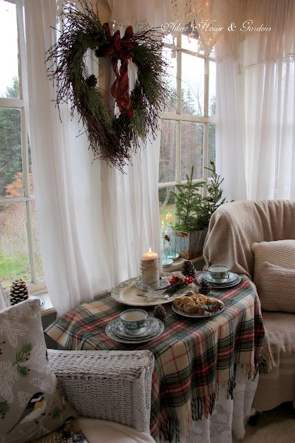 Aiken House Amp Gardens A Cozy Sunroom Tea