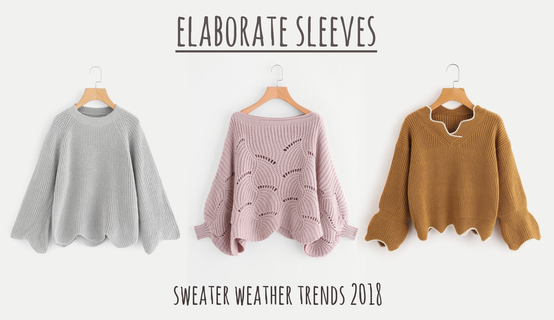 sweater weather trends winter spring 2018. Black Bedroom Furniture Sets. Home Design Ideas