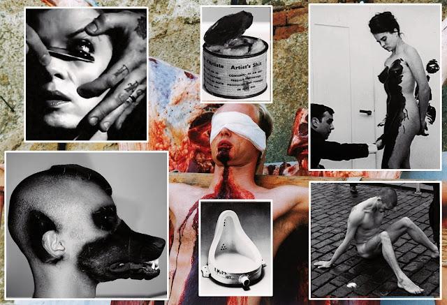 artistas bizarros, obras de arte macabras, obras de arte bizarras, arte macabra, arte contemporânea, arte escatológica, coisas assustadoras