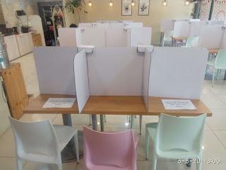 Social distancing at restaurants - Reopening restaurants - South Korea