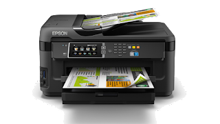 Download Epson WorkForce WF-7611 drivers