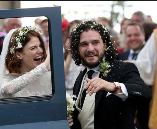 Photos: Game of Thrones stars, Kit Harington and Rose Leslie tied the knot at the family castle