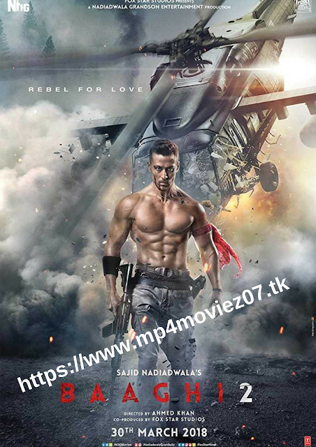 BAAGHI 2 HINDI 2018 FULL MOVIE DOWNLOAD 720P HD 700MB