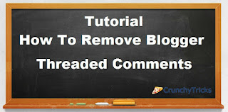 Threading comment system consist of original comment and several replies to that comment  How To Remove Threaded Comment System In Blogger