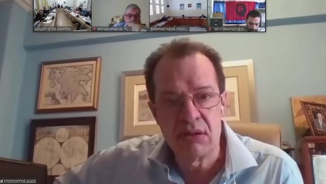 Ο Γιώργος Δέδες θεωρεί casus belli την βίαιη απένταξη της Πελοποννήσου από το φυσικό αέριο