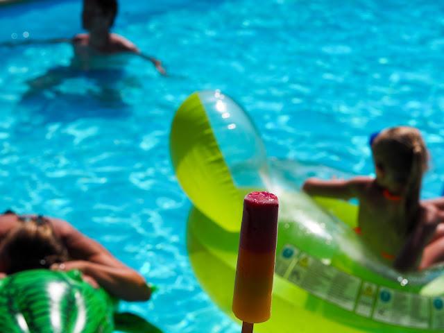 zomer zwembad