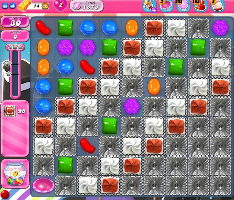Candy Crush Saga 1873