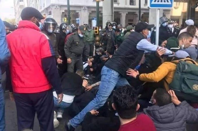 Maroc : Une enquête ouverte après des faits de violence lors d'un rassemblement d'enseignants