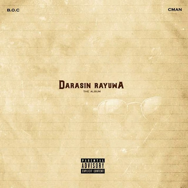"Boc Madaki Unveils ""Album Art/Tracklist to Joint Album (Darasin Rayuwa) Alongside ""Concept Man"""
