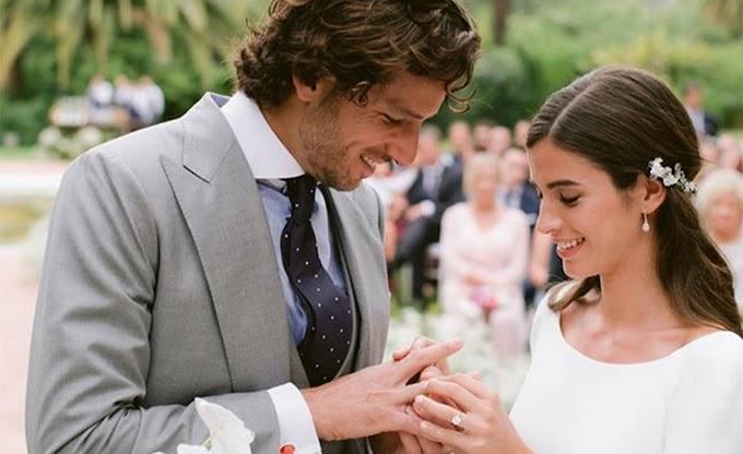 La boda de Feliciano López