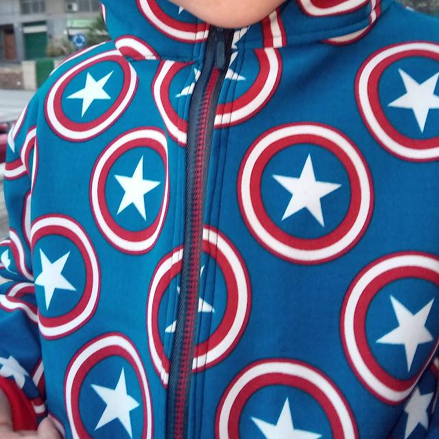 chaqueta estrellas softshell